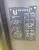 Podest, zwyżka, podnośnik Manitou 105 VJR2