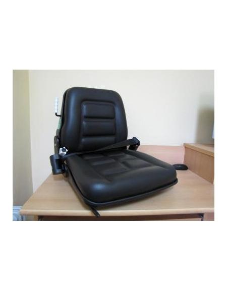 Fotel operatora do wózka widłowego z pasami bezpieczeństwa
